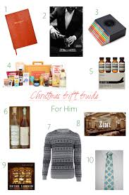 christmas gift guide gifts for him mirandasnotebook