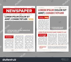 Google Doc Newspaper Template Fake Newspaper Article Template Corpedo Com