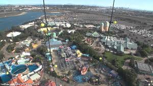 Sea World San Diego Map by Skytower On Ride Day Seaworld San Diego Youtube