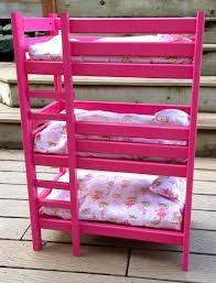 Bunk Bed For Dolls How To Make A Doll Jump Rope Doll Bunk Beds Bed Plans And Doll Beds