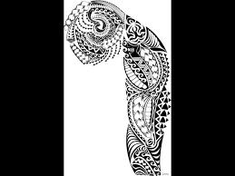 tribal sleeve tattoos stencilsfull tribal sleeve free tattoo