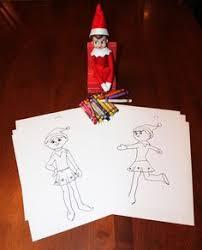 elf on the shelf coloring pages for kids elf on the shelf coloring pages elf on the shelf pinterest elves