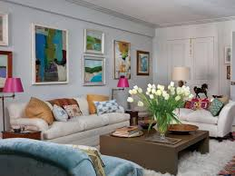 furniture beautiful eclectic living room with white sofa and