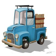 pix for cartoon dump truck with eyes clip art library
