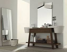 bathroom rustic bathroom modern wall brown wooden wall curtain