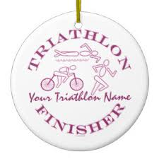 triathlon finisher gifts on zazzle