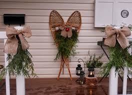 Christmas Decorations For Outdoor Bench by 1397 Best Christmas Outdoor Decorations Images On Pinterest
