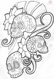 what are skull tattoos and what do they stand for cool zombie skull tattoo drawings drawings tagged with