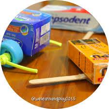 membuat mainan edukatif dari kardus membuat sendiri we learn and play
