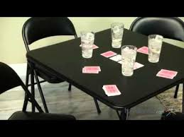 meco sudden comfort 5 piece card table set black product