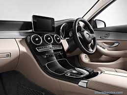mercedes dashboard 2015 mercedes benz c class launched from rs 40 90 lakh