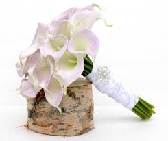 Calla Lily Bouquets Calla Lily Bouquet Real To Touch Lavender Calla Lily Wedding