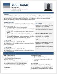 impressive resume templates budget analyst resume impressive budget analyst resume contents