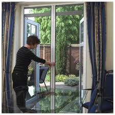 Insect Screen For French Doors - double roller fly screen for doors fly screens uk