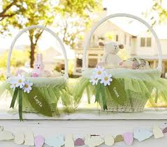 Pottery Barn Baskets With Liners Pottery Barn Kids Green Fairy Easter Basket Liners Easter Ideas