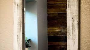 Reclaimed Wood Bathroom Mirror Alluring Reclaimed Wood Bathroom Mirror Windigoturbines
