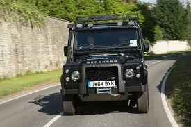 lexus v8 in defender we drive the world cup defender u2013 with rugby legend jason robinson