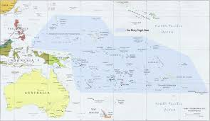 Map Of Pacific Islands The South Pacific Seamercy Org