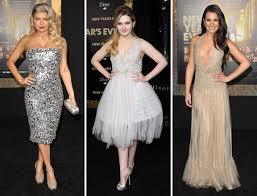 dresses to wear on new years would you wear fergie abigail breslin or lea michele s new