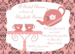 tea party baby shower invitation cimvitation