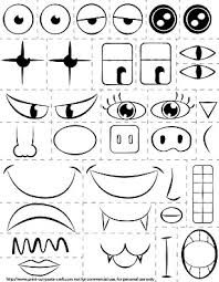 easy printable kid activity make a face and explore emotions my