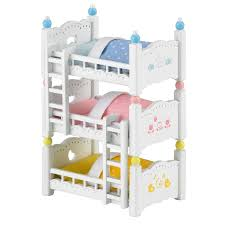 Dolls Bunk Beds Uk Sylvanian Bunk Bed Set Image 0 Pinterest