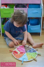 craftaholics anonymous preschool color wheel matching game