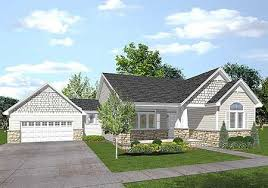 craftsman style home turn the garage to the side plan 73263hs ranch style garage design and house