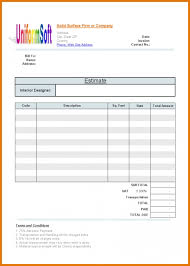 estimate templates for word construction estimate template word 7construction estimate template