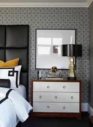 Bed Wallpaper 95 Best Black White Gold Bedroom Images On Pinterest Home