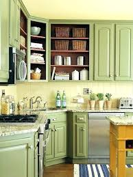 paint kitchen cabinets ideas green cabinets kronista co