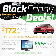 black friday deals tv brighton ford last minute black friday deals