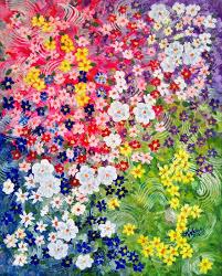 flower garden painting art ideas for me and pinterest