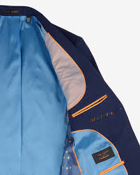 cycling jacket blue ted baker the commuter cycling suit jacket in blue for men lyst