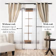 Height Of Curtains Inspiration Standard Curtain Lengths Inches Guide Choosing Window
