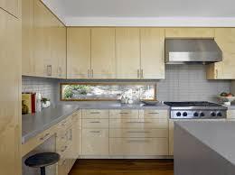 kitchen window backsplash low widow instead of backsplash modern kitchen by yamamar