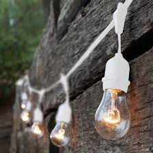 Clear Patio Lights Patio Lights Commercial Clear Patio String Lights 24 A19 E26
