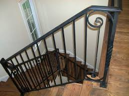 removable basement stair railing ideas perfect basement stair