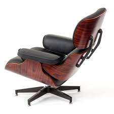 Leather And Wood Chair Furniture Eames Lounge Chair With Eames Lounge Chair White And