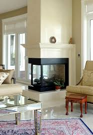 3 sided fireplace binhminh decoration