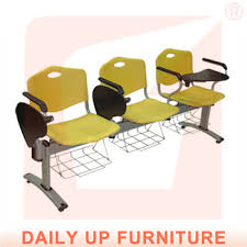 Cheap Waiting Room Chairs Salon Waiting Room Chairs With Writing Pad Sturdy Institutional