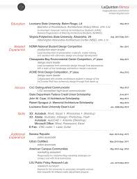 Undergraduate Resume Sample For Internship by Resume Work Samples On Behance
