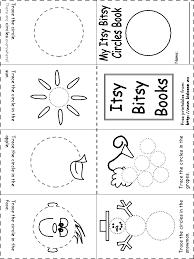 shape recognition worksheet itsy bitsy book