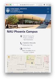 Nau Campus Map Nau Extended Campuses Site U2014 Beautymark Designstud Io