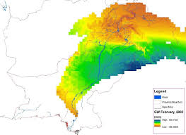 Pakistan On Map Of World by Nasa Data Used To Track Groundwater In Pakistan Nasa