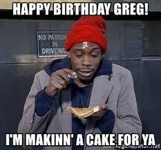 Greg Meme - happy birthday greg meme mne vse pohuj