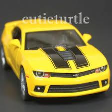 camaro car 2014 kinsmart 2014 chevrolet camaro ss 1 38 diecast car yellow with