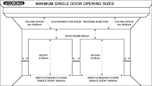garage door dimensions single car download standard size of a