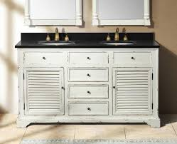 White Vanities Bathroom Deals U0026 Ideas Weathered Bathroom Vanities For A Shabby Chic