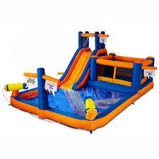 blast zone pirate bay inflatable water park hayneedle